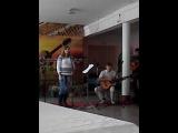 бардовский концерт. Песня